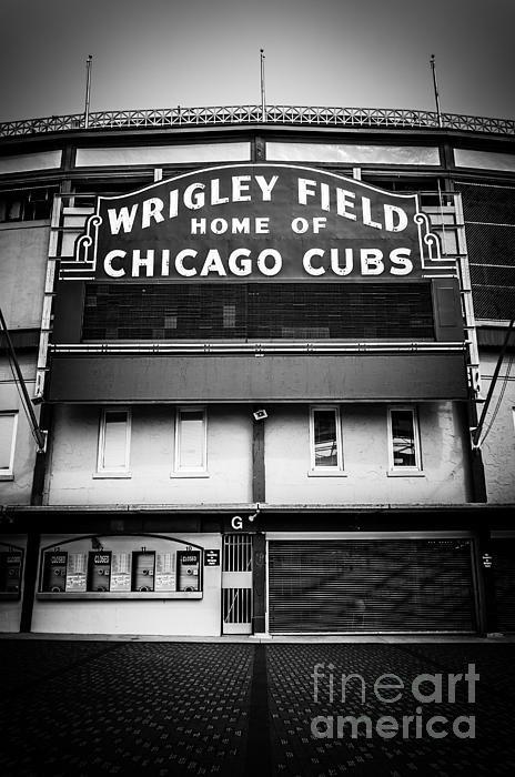 Paul Velgos - Wrigley Field Chicago Cub... Print