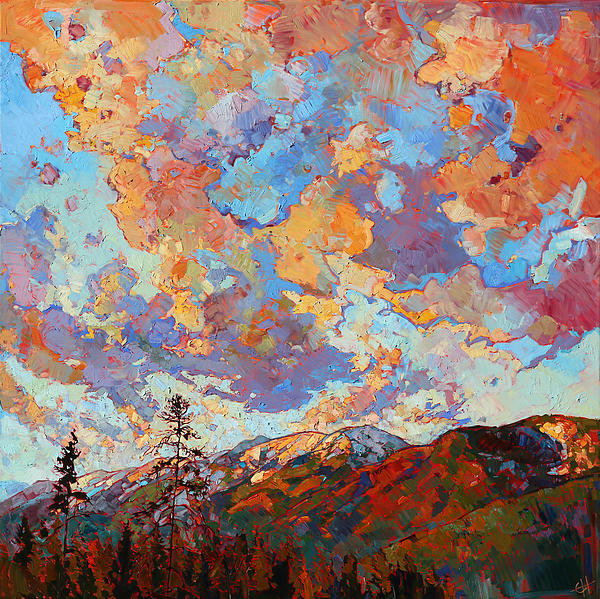 Erin Hanson - Over the Crest Print