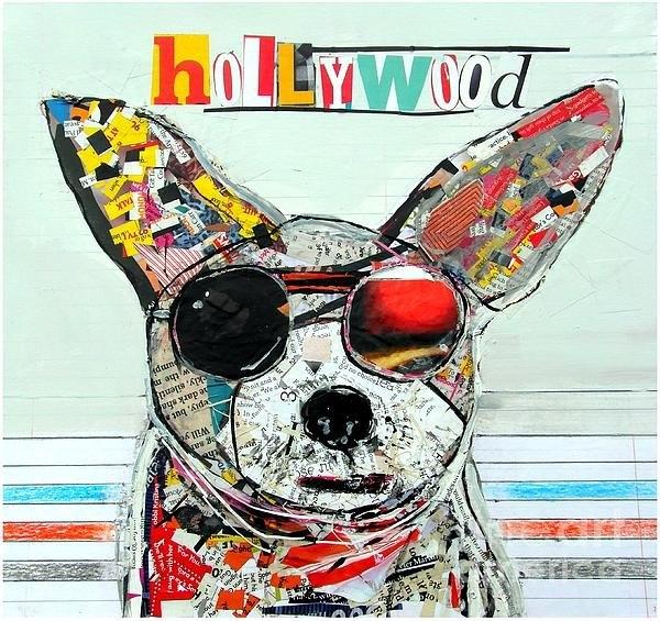Bri Buckley  - Hollywood Chihuahua Print