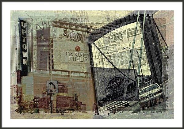 Susan Stone - Montage of Minneapolis Print