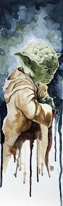 David Kraig - Yoda Print