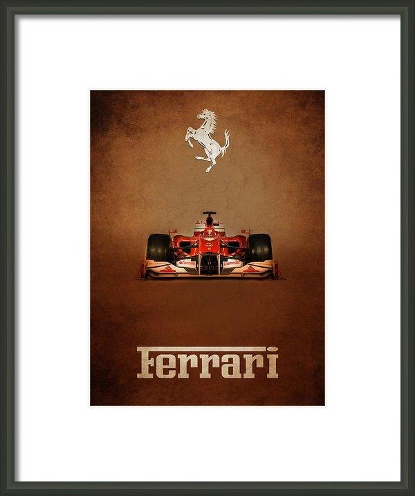 Mark Rogan - Ferrari F10 Print