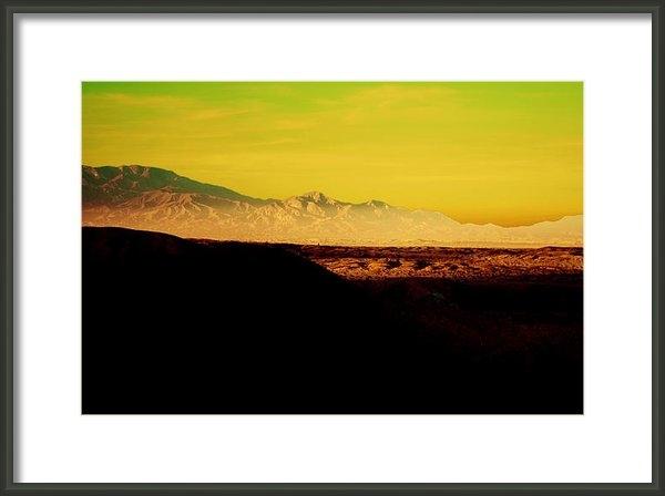 Nicole Swanger - Desert Mountains Print