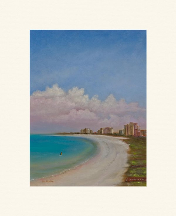 Eve  Wheeler - Balcony View Print