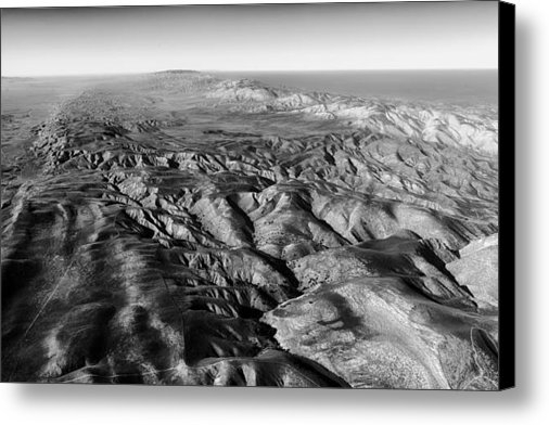 Mountain Dreams - The San Andreas Fault Print