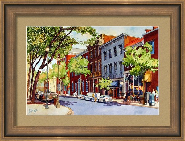 Mick Williams - Sunny Day Cafe Print