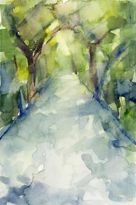 Beverly Brown Prints - Path Conservatory Garden ... Print