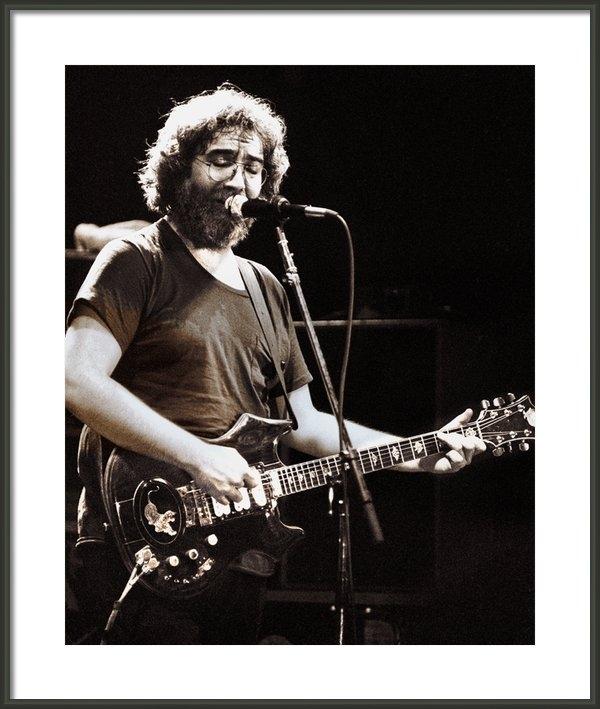 Chuck Spang - Jerry Garcia 1981 Print