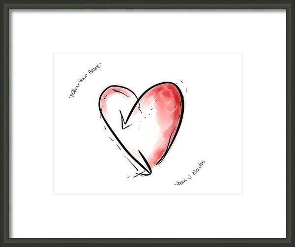 Jason Nicholas - Follow Your Heart Print