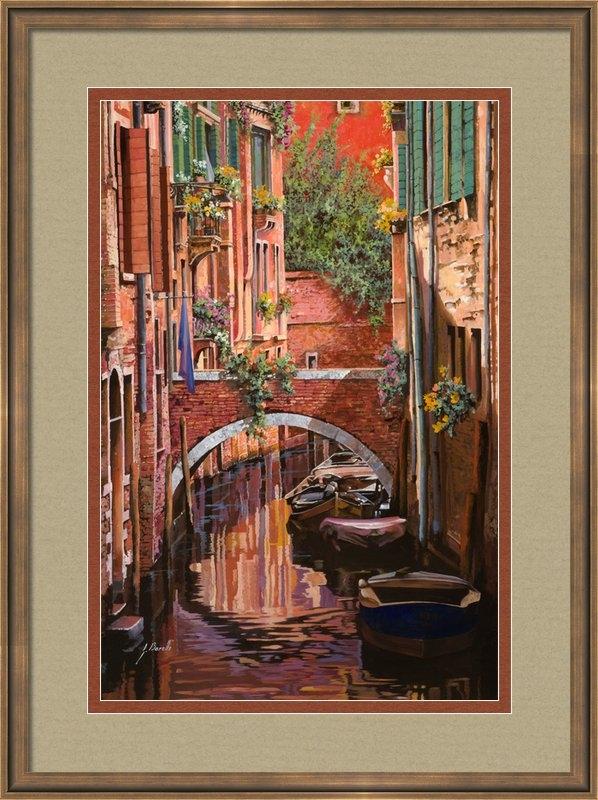 Guido Borelli - Rosso Veneziano Print