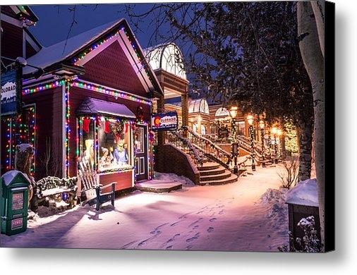 Michael J Bauer - A Walk in the Snow Print