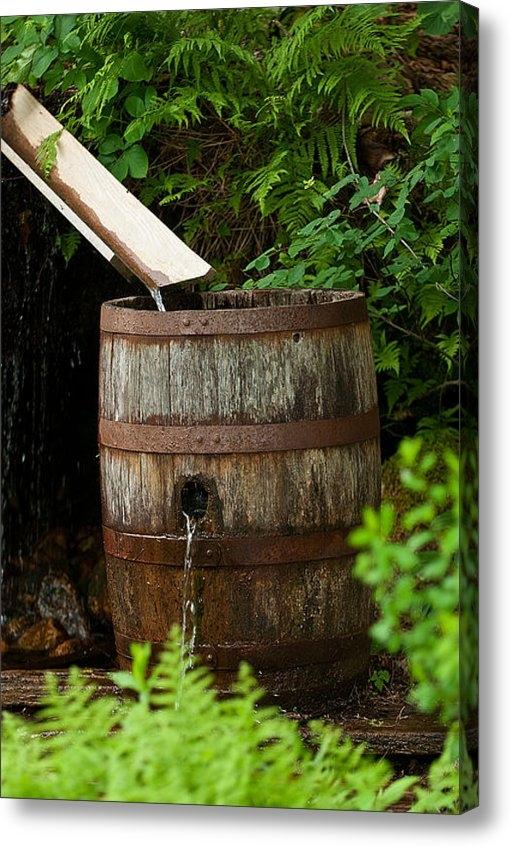 Paul Mangold - Barrel of Water Print