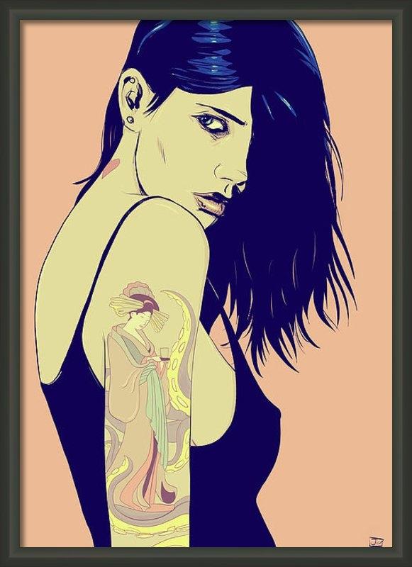 Giuseppe Cristiano - Tattoo Print