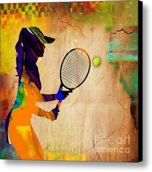 Marvin Blaine - Womens Tennis Print