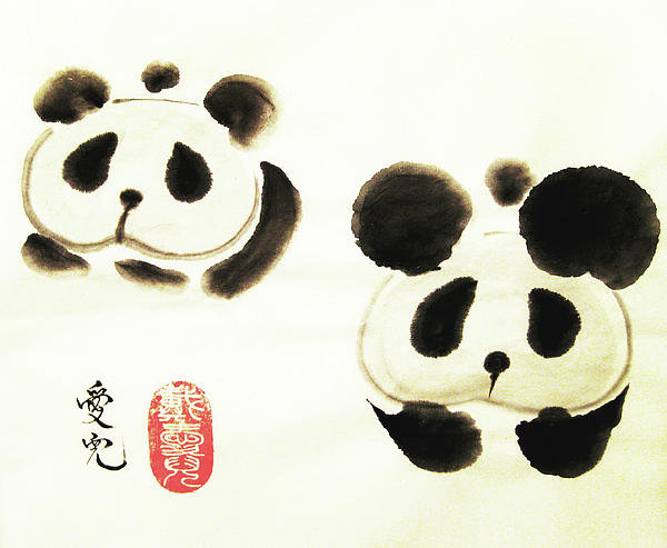 Oiyee  At Oystudio - Good Things Come In Pairs Print