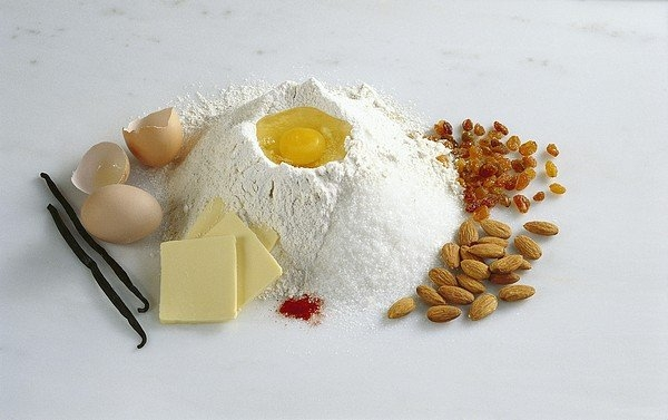 Science Photo Library - Baking ingredients Print