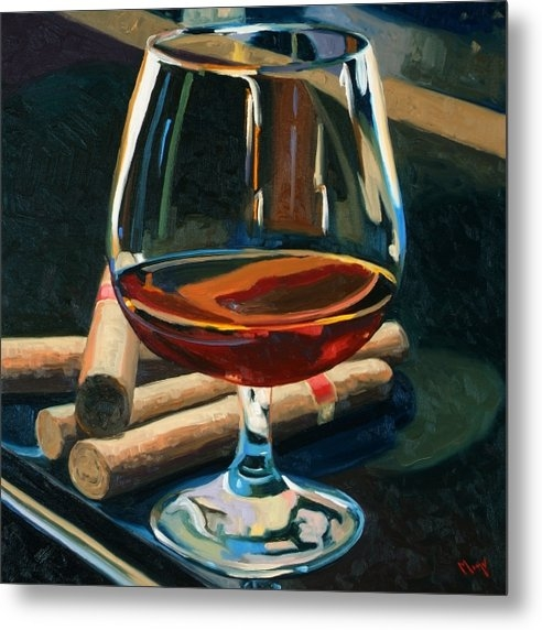 Christopher Mize - Cigars and Brandy Print