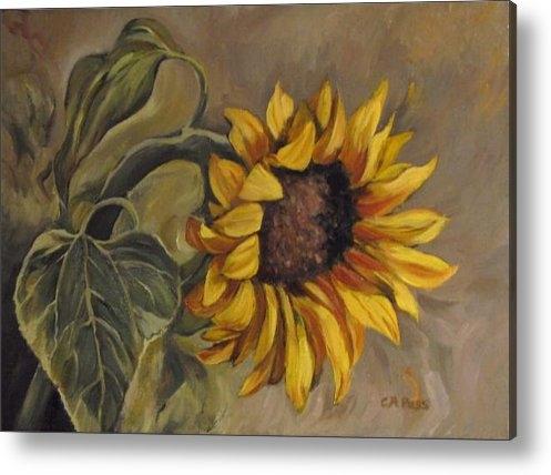 Cheryl Pass - Sunflower Nod Print