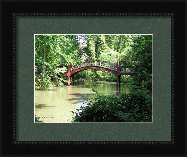 Jennie  Richards  - Crim Dell Bridge IV Print