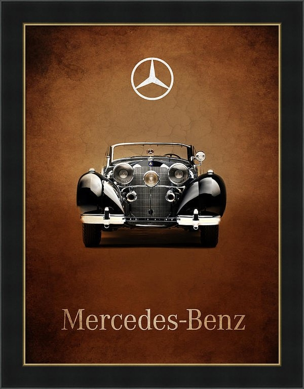 Mark Rogan - Mercedes Benz 540K Print
