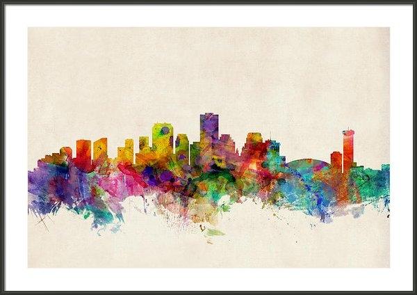 Michael Tompsett - New Orleans Louisiana Sky... Print