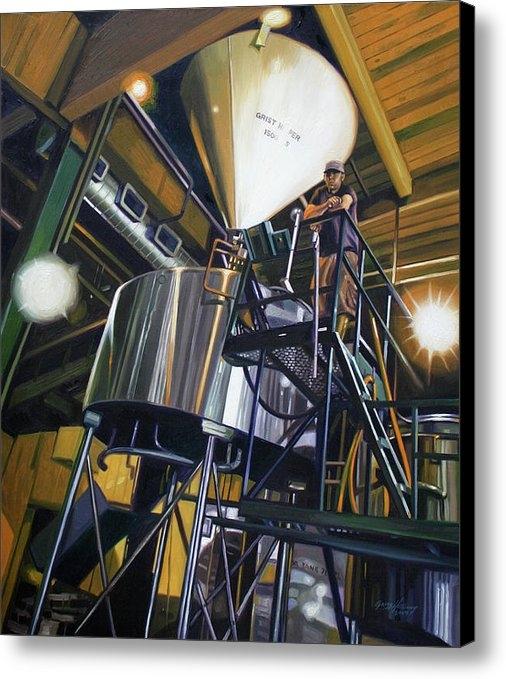 Gregg Hinlicky - Hales Ales  Composition i... Print