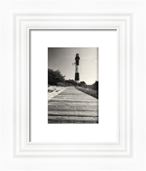 George Oze - Path to the Lighthouse Print