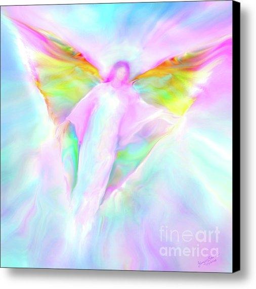 Glenyss Bourne - Archangel Gabriel in Flig... Print