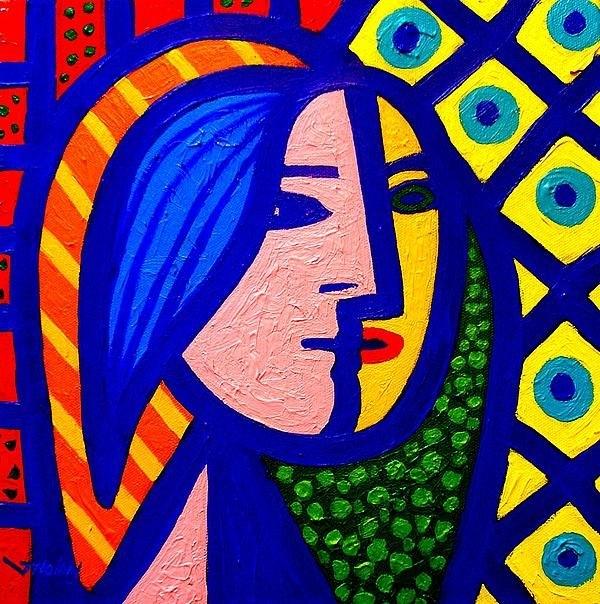 John  Nolan - Homage To Pablo Picasso Print