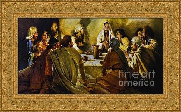 Al Bourassa - Last Supper Reproduction Print
