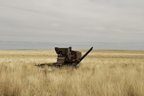 Chris Harris - Rusty Combine Print