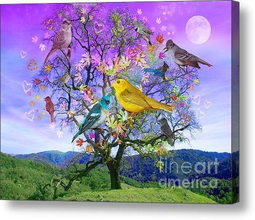 Alixandra Mullins - Tree of Happiness Print