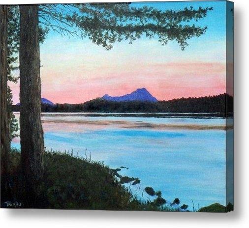 William Tremble - Sebec Lake Maine Print