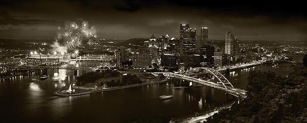Steve Gadomski - Pittsburgh PA  B W Print