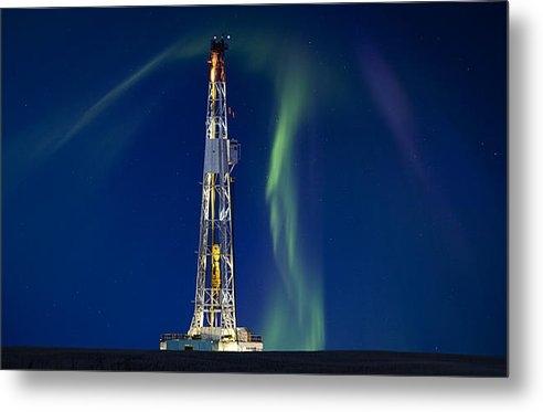 Mark Duffy - Drilling Rig Saskatchewan Print