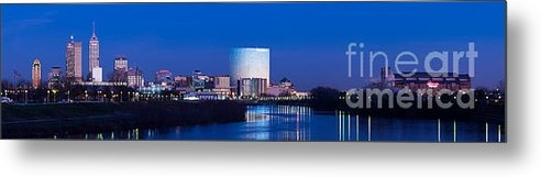 Twenty Two North Photography - Indianapolis Skyline Print