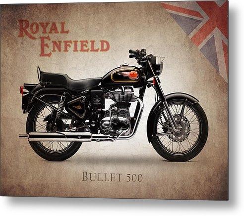 Mark Rogan - Royal Enfield Bullet 500 Print