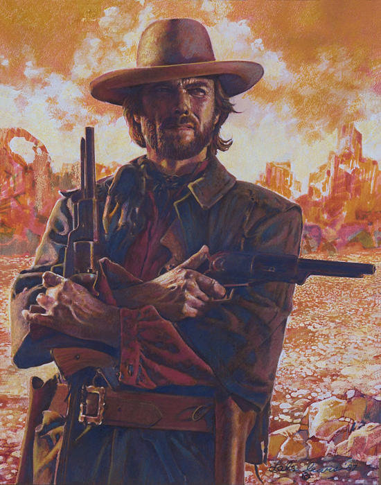Dale Lewis - The Outlaw Josey Wales Print