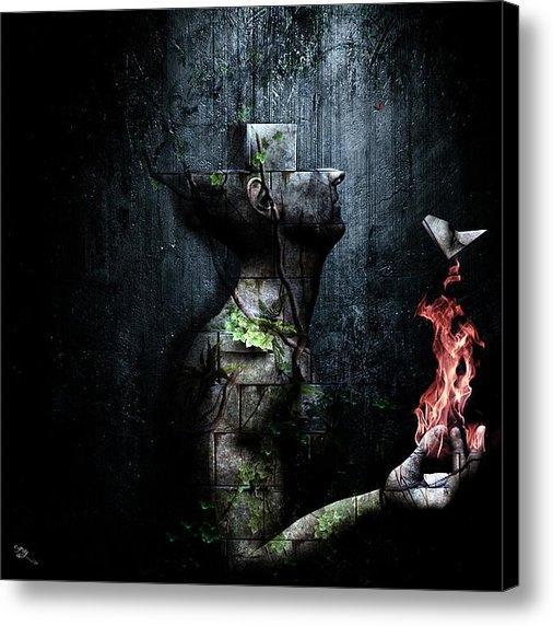 Cameron Gray - Dismantle The Dark We Mar... Print