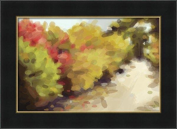 Beverly Brown Prints - Autumn Path Central Park ... Print