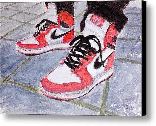 Stan Tenney - Sneakers Print