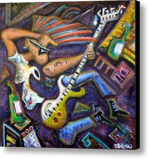 Jason Gluskin - Give Em The Boot - Punk R... Print