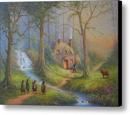 Joe  Gilronan - The House Of Tom Bombadil... Print