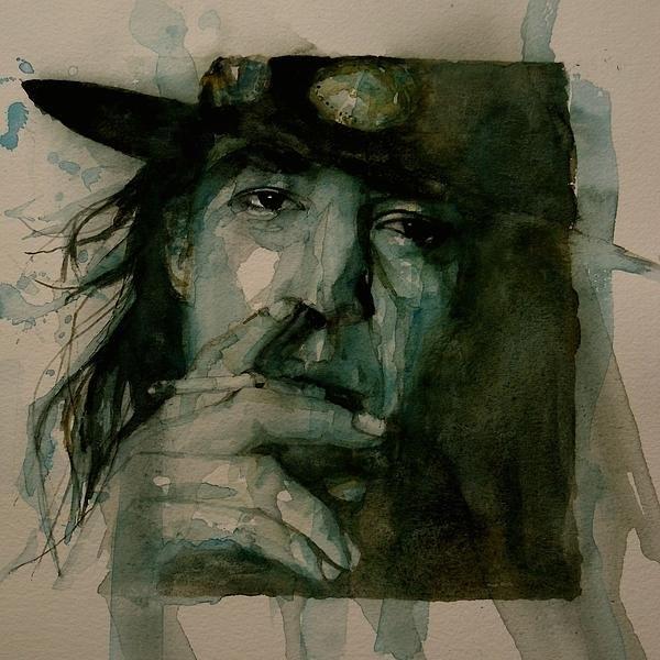 Paul Lovering - Stevie Ray Vaughan Print