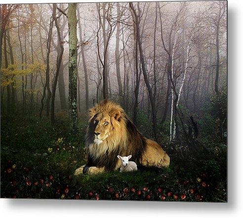 Julie L Hoddinott - So the Lion Fell in Love ... Print