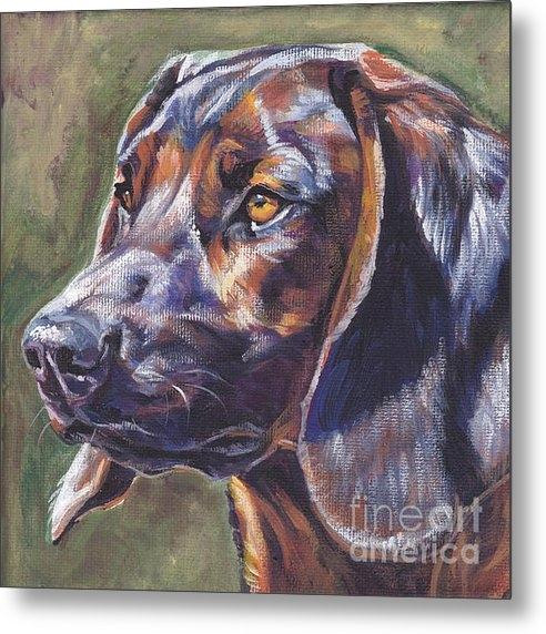 Lee Ann Shepard - Bavarian Mountain dog Print
