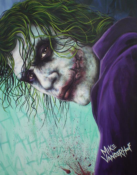 Mike Vanderhoof - The Joker Print