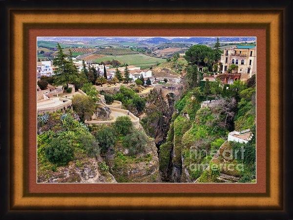 Artur Bogacki - City of Ronda in Spain Print