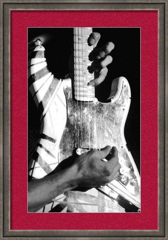 Ben Upham - Van Halen Rocks Print