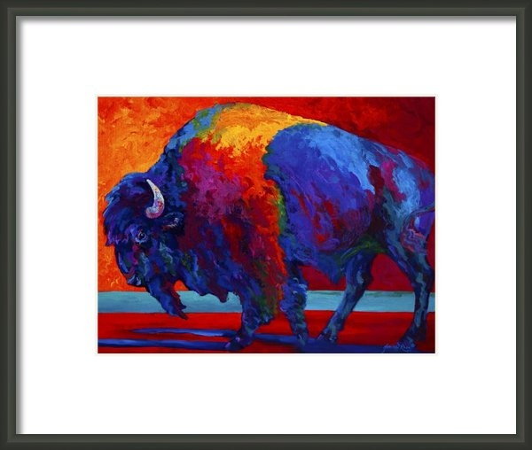 Marion Rose - Abstract Bison Print